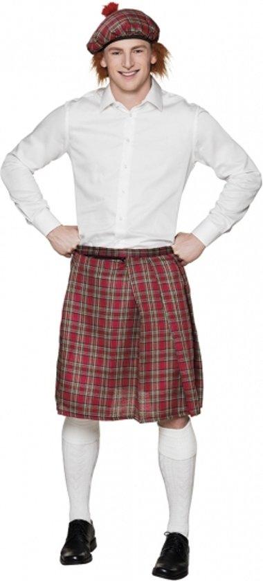 8f46f8bbf22e80 Rode Schotse kilt   rok voor heren