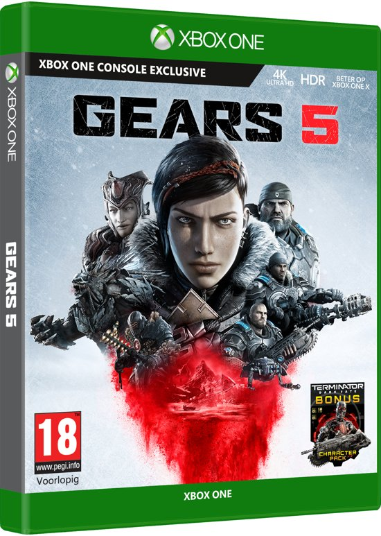 Cover van de game Gears 5 - Standard Edition - Xbox One