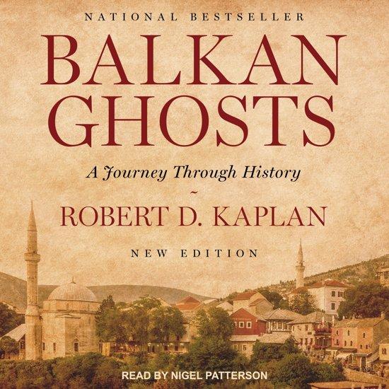 Boek cover Balkan Ghosts van Robert D. Kaplan (Onbekend)