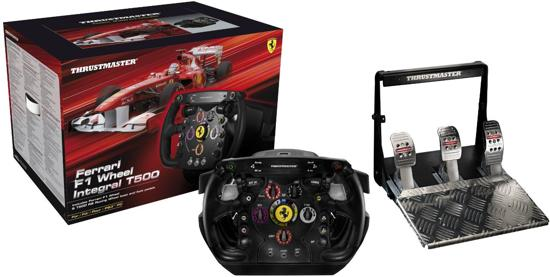 thrustmaster ferrari f1 racestuur integral t500 pc ps3 thrustmaster games. Black Bedroom Furniture Sets. Home Design Ideas