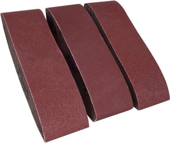FERM Schuurbanden 75x533mm (1xP60, 1xP80, 1xP120) - BSA1013