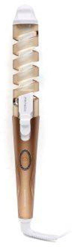 Professionele Krultang voor de perfecte grote krul - CERAMIC - Curl Iron -  Haarkruller -  Snel & Simpel - Bruin