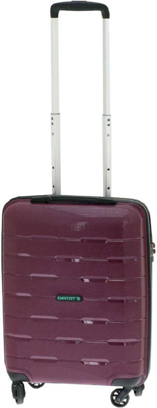 345f42d8d29 Davidt's Substantial - handbagage koffer - 55 cm - TSA slot - bordeaux rood