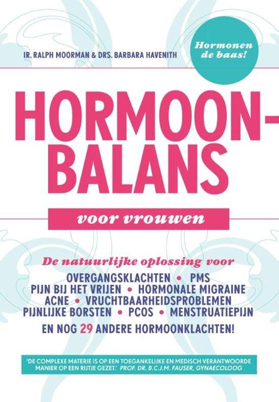 Boekomslag voor Hormoonbalans voor vrouwen