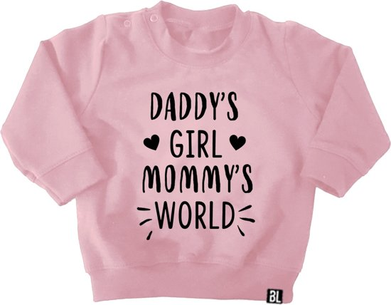 BrandLux Sweater kind | Daddy's girl, mommy's world