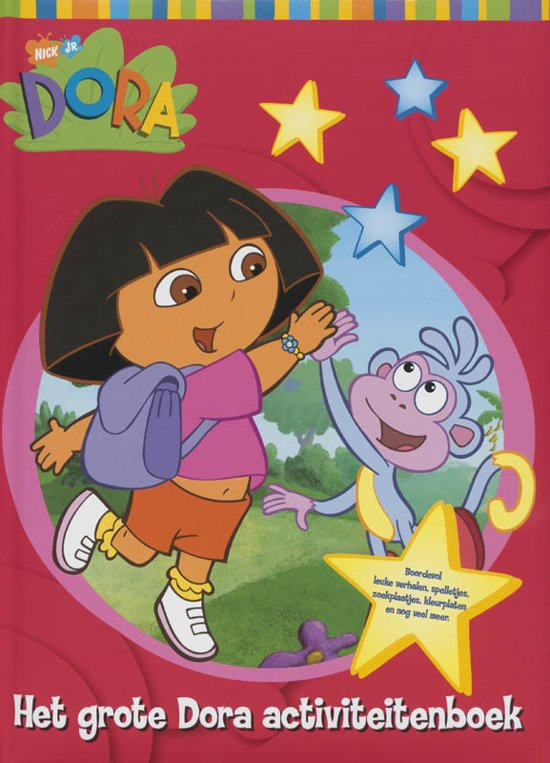 Boek cover Dora / Het Grote Dora Activiteitenboek van Onbekend (Hardcover)