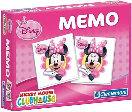 Spel Memo Minnie