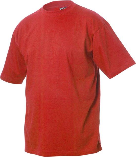 Classic-T t-shirt 160 g/m² rood m