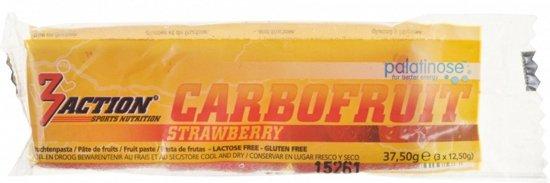 3action Fruittabletten Carbofruit Aardbei 37,5 Gram
