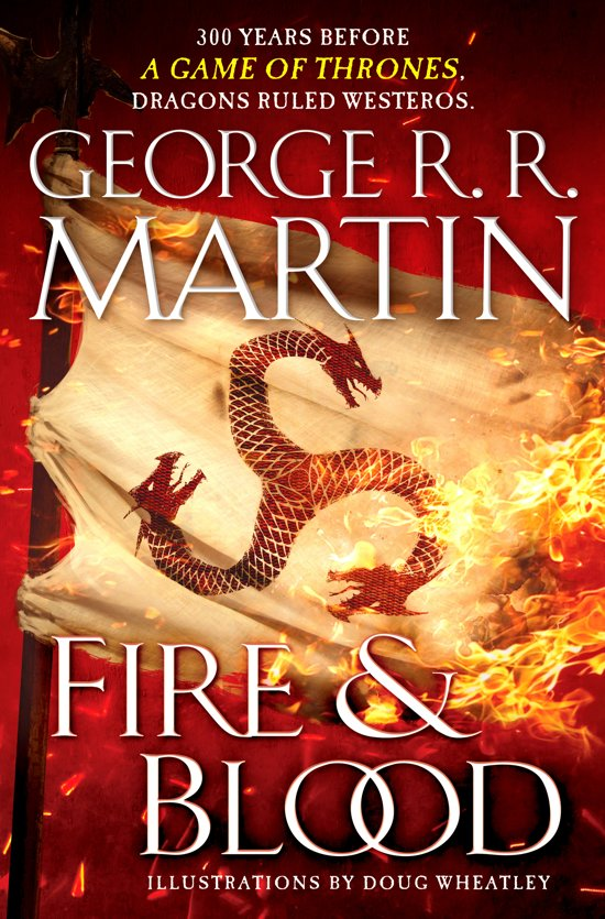Boek cover Fire and Blood van George R.R. Martin (Hardcover)