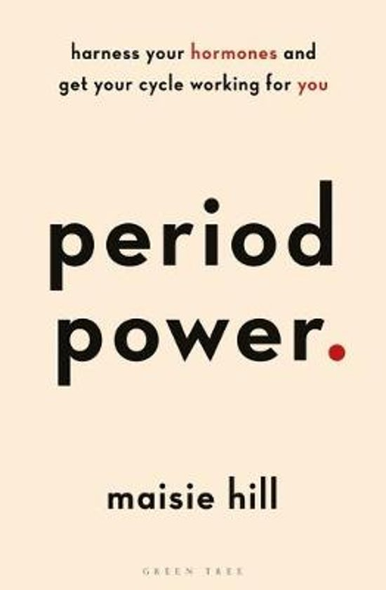Boek cover Period power van Maisie Hill (Paperback)