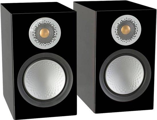 Monitor Audio Silver 50 - Boekenplank Speaker - Zwart/Glans (Prijs