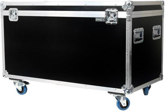 Innox FCAC200 universele flightcase op wielen 1170x570x535 mm