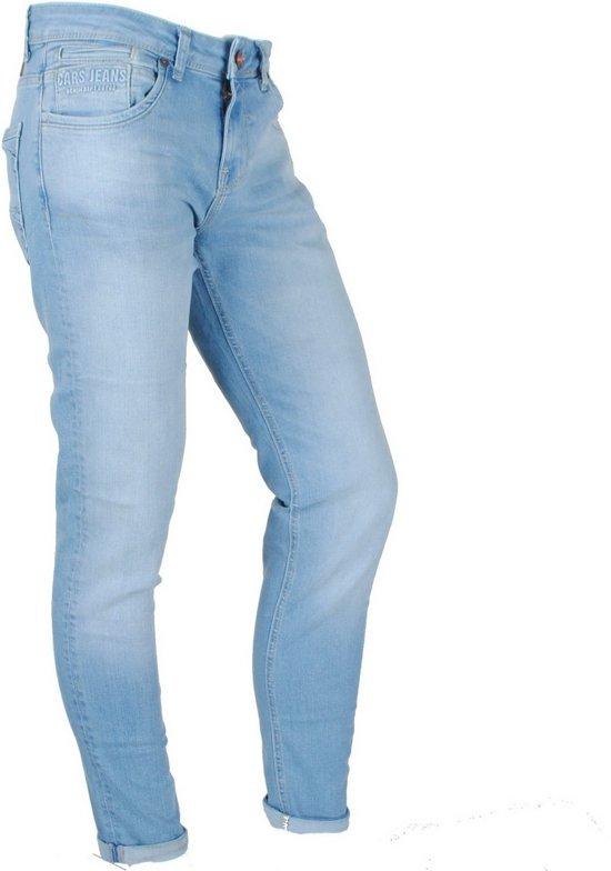Cars Jeans Heren Jeans Slim Fit Stretch Lengte 36 Blast Blue Used