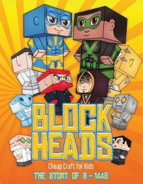 Cheap Craft for Kids (Block Heads - the Story of S-1448)
