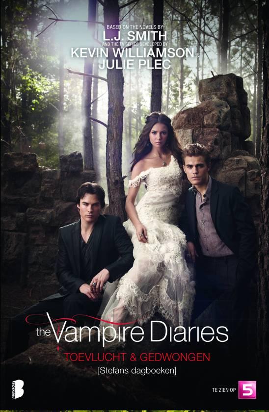 Boek cover The Vampire Diaries 5 en 6 - Toevlucht - Gedwongen van L. J. Smith (Paperback)