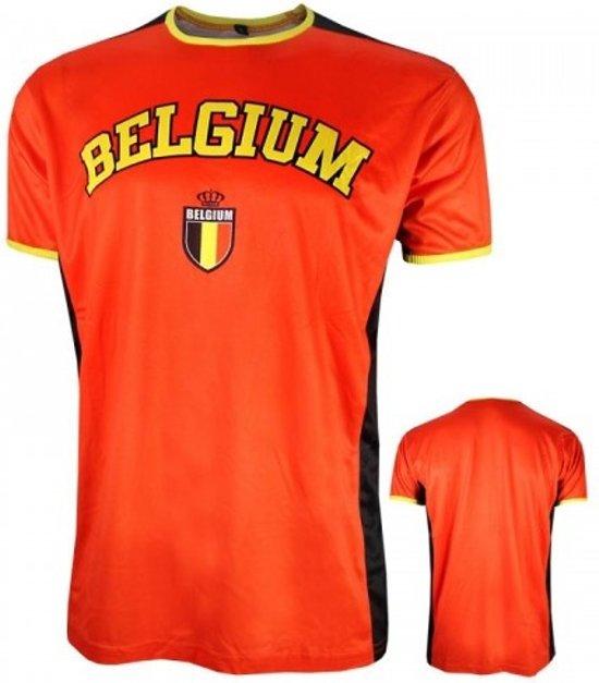 België T-shirt - Fan - XL - Rood