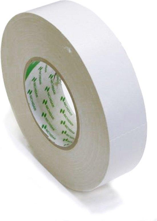 Nichiban   -  duct tape    -  38 mm x 50 m   -  Wit