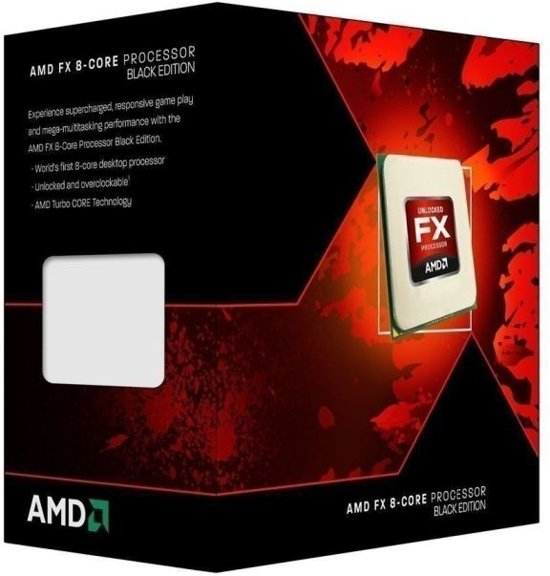 AMD FX 8350 4GHz 8MB L2 Box processor
