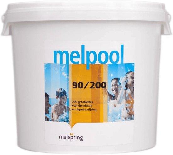 Chloortabletten 200gr 5Kg (traagwerkende chloor)