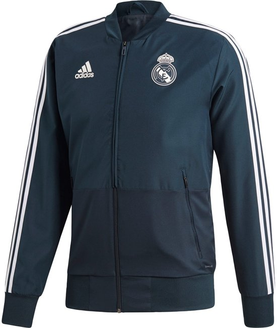 Adidas Real Madrid Trainingspak 2018-2019 Heren - Zwart/Wit