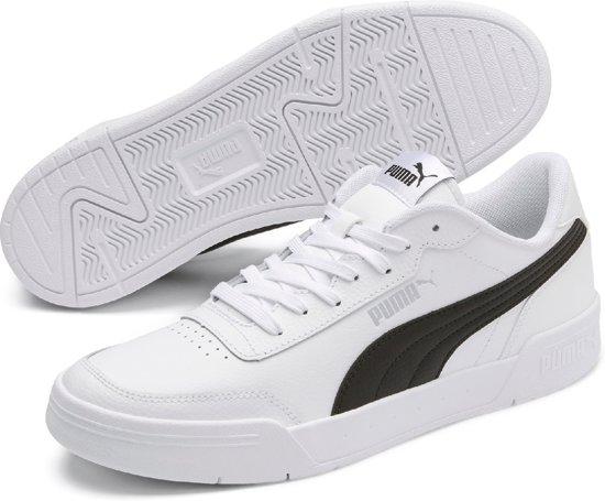 PUMA Caracal Unisex Sneakers - Puma White-Puma Black - Maat 42