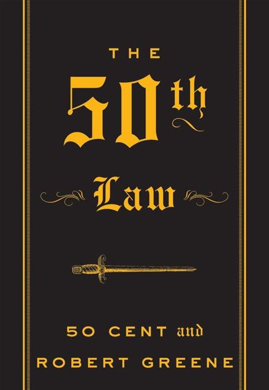 Boek cover The 50th Law van 50 Cent (Onbekend)
