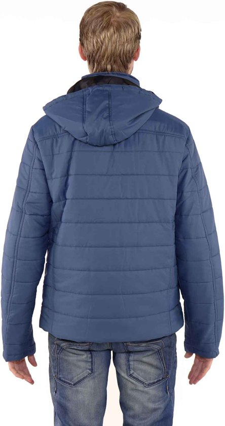 Denim Heren Blauw Soren 4xl Maat Bjørnson Winterjas q46WE