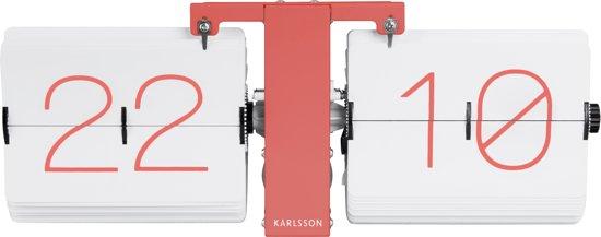 Karlsson No Case Flip Tafel-/Wandklok