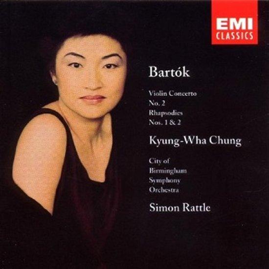 Bela Bartok: Violin Concerto No. 2; Rhapsodies Nos. 1 & 2