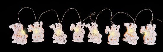bol.com   Luca Lighting - Snoer met houten kerstman en LED ...