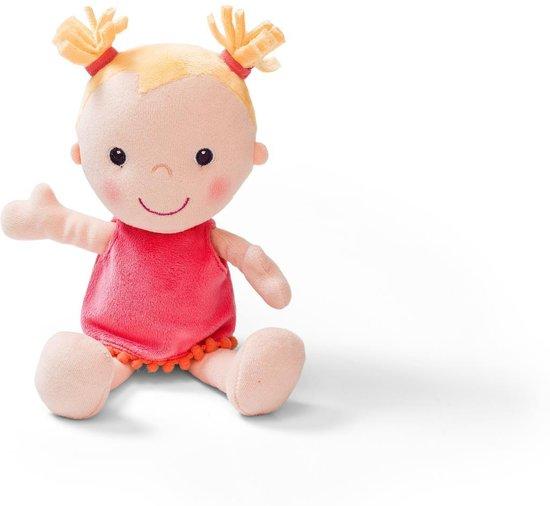 Lilliputiens Louise Babypop stoffen pop met draagmand