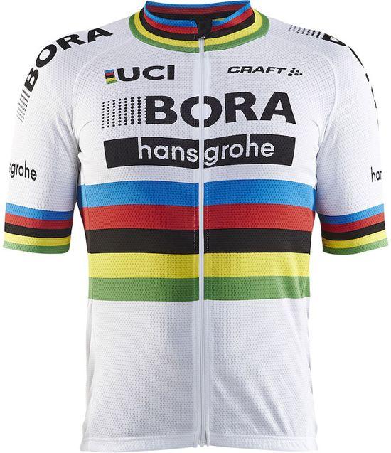 Craft Bora Hansgrohe Wereldkampioen Replica Fietsshirt - Maat L