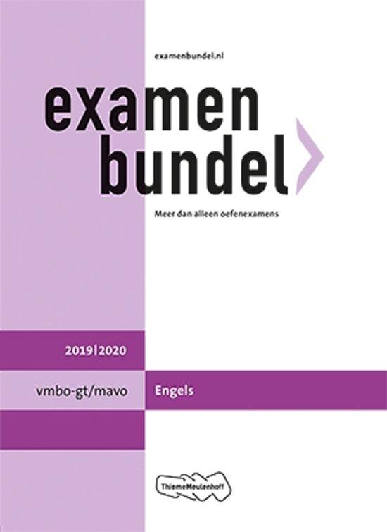 Boek cover Examenbundel vmbo-gt/mavo Engels 2019/2020 van  (Paperback)