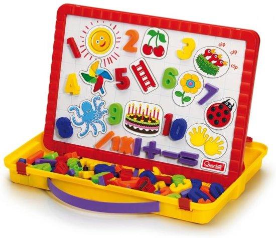 Quercetti magneetbord incl. magneten, 64dlg.