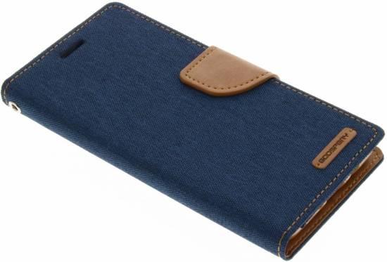 Etui En Toile De Journal Pour Samsung Galaxy J5 - Bleu 1kRs8FRlXC