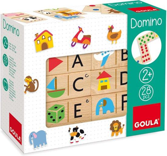 Afbeelding van het spel Houten domino Goula