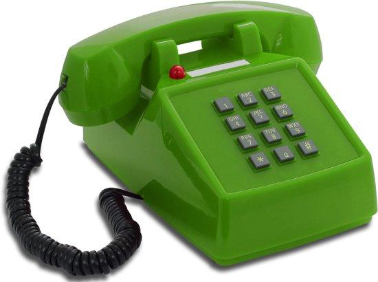 Opis Push-Me-Fon - Retro telefoon - Groen