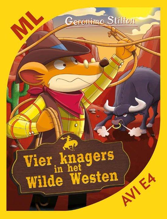 Makkelijk lezen - Vier knagers in het Wilde Westen