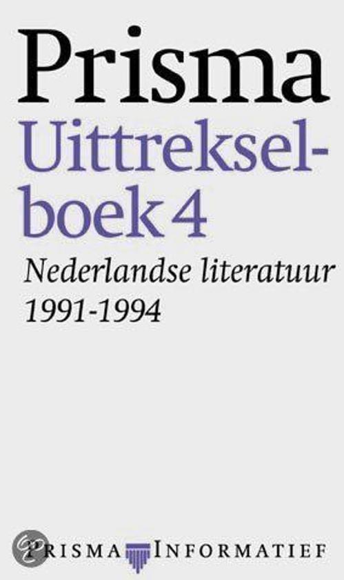Nederlandse literatuur 1991-1994 - Ritske van der Veen  