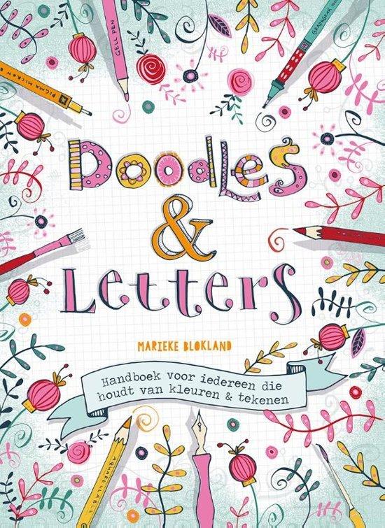 Bol Com Doodles Amp Letters Marieke Blokland