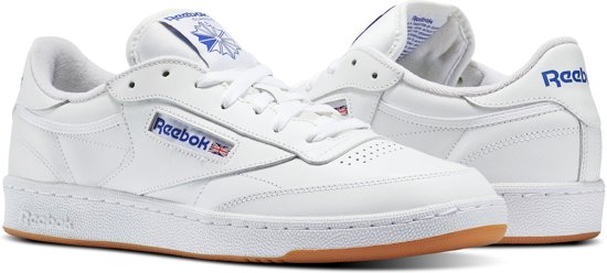 89668ad0940 Reebok Club C 85 Sneakers Heren - Int-White Royal-Gum - Maat