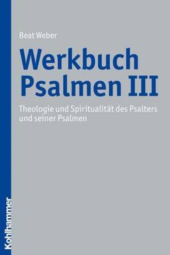 Werkbuch Psalmen III