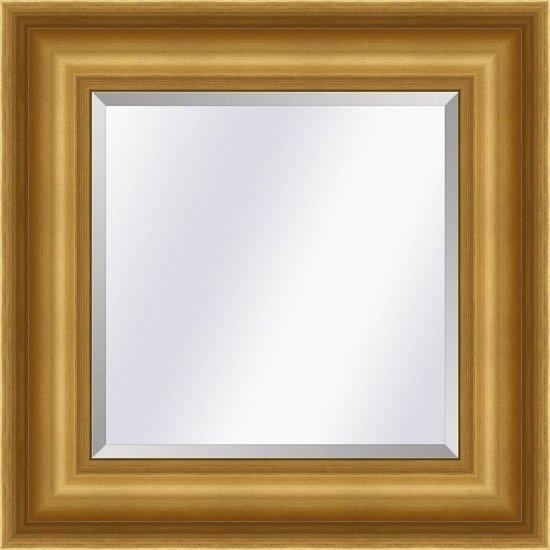 Klassieke spiegel Academie Goud large 76mm        Buitenmaat 95x195cm