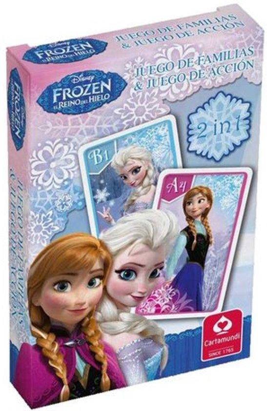 Thumbnail van een extra afbeelding van het spel Disney Frozen - 2 in 1 - Kwartet en actiespel