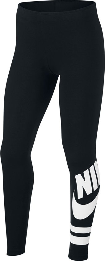 85bd6130a83 bol.com | Nike Favorite Legging Sportbroek Dames - Zwart/Wit