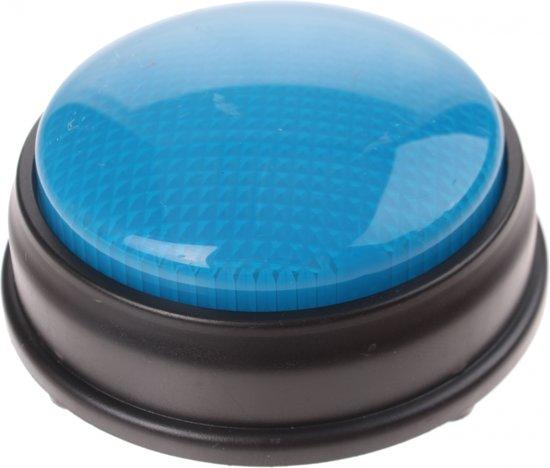 Afbeelding van het spel Johntoy Buzzer Met Licht En Geluid Blauw 8 Cm