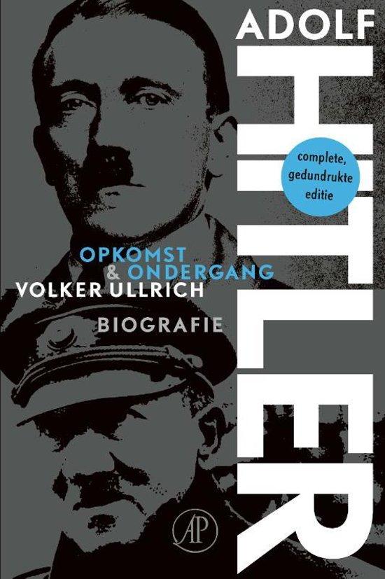 Boek cover Adolf Hitler van Volker Ullrich (Paperback)