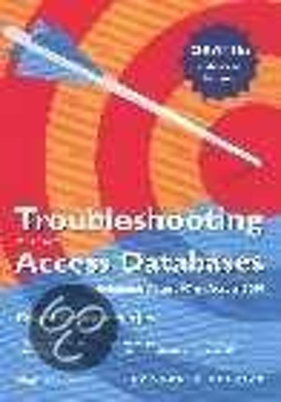 TROUBLESHOOTING MS ACCESS DATA - V. Andersen pdf epub