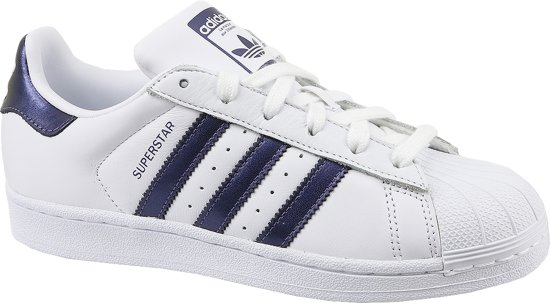 adidas Superstar - Dames Sneakers - White/Purple - CG5464